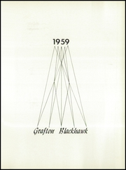 Page 5, 1959 Edition, Grafton High School - Blackhawk Yearbook (Grafton, WI) online yearbook collection