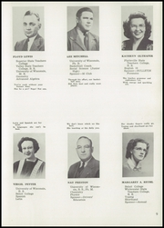 Page 13, 1948 Edition, Monroe High School - M Book Yearbook (Monroe, WI) online yearbook collection