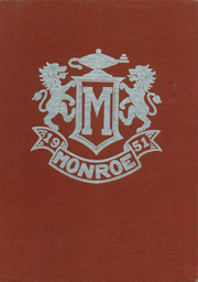 Monroe High School - M Book Yearbook (Monroe, WI) online yearbook collection, 1951 Edition, Page 1