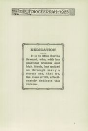 Page 11, 1925 Edition, Fort Atkinson High School - Tchogeerrah Yearbook (Fort Atkinson, WI) online yearbook collection