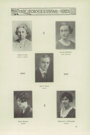 Page 17, 1925 Edition, Fort Atkinson High School - Tchogeerrah Yearbook (Fort Atkinson, WI) online yearbook collection