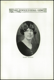 Page 10, 1926 Edition, Fort Atkinson High School - Tchogeerrah Yearbook (Fort Atkinson, WI) online yearbook collection