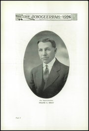 Page 8, 1926 Edition, Fort Atkinson High School - Tchogeerrah Yearbook (Fort Atkinson, WI) online yearbook collection