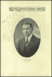 Page 10, 1927 Edition, Fort Atkinson High School - Tchogeerrah Yearbook (Fort Atkinson, WI) online yearbook collection
