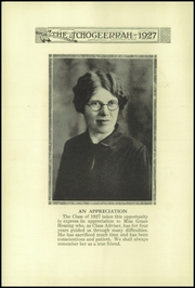 Page 16, 1927 Edition, Fort Atkinson High School - Tchogeerrah Yearbook (Fort Atkinson, WI) online yearbook collection