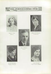 Page 13, 1931 Edition, Fort Atkinson High School - Tchogeerrah Yearbook (Fort Atkinson, WI) online yearbook collection
