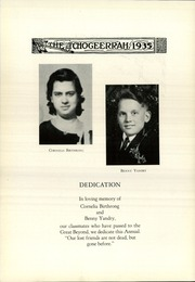Page 12, 1935 Edition, Fort Atkinson High School - Tchogeerrah Yearbook (Fort Atkinson, WI) online yearbook collection