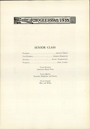 Page 15, 1935 Edition, Fort Atkinson High School - Tchogeerrah Yearbook (Fort Atkinson, WI) online yearbook collection