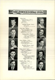 Page 16, 1935 Edition, Fort Atkinson High School - Tchogeerrah Yearbook (Fort Atkinson, WI) online yearbook collection
