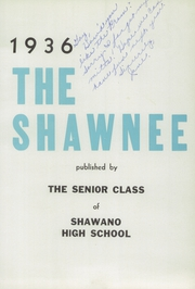 Page 9, 1936 Edition, Shawano High School - Shawnee Yearbook (Shawano, WI) online yearbook collection