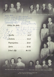 Page 11, 1952 Edition, St Catherines High School - Lance Yearbook (Racine, WI) online yearbook collection