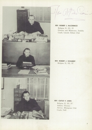 Page 15, 1952 Edition, St Catherines High School - Lance Yearbook (Racine, WI) online yearbook collection