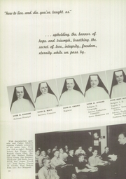 Page 16, 1952 Edition, St Catherines High School - Lance Yearbook (Racine, WI) online yearbook collection