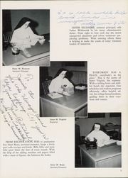 Page 15, 1953 Edition, St Catherines High School - Lance Yearbook (Racine, WI) online yearbook collection