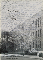 Page 7, 1953 Edition, St Catherines High School - Lance Yearbook (Racine, WI) online yearbook collection