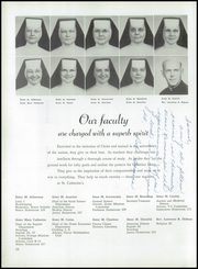 Page 14, 1954 Edition, St Catherines High School - Lance Yearbook (Racine, WI) online yearbook collection