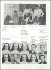 Page 15, 1954 Edition, St Catherines High School - Lance Yearbook (Racine, WI) online yearbook collection