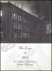 Page 7, 1954 Edition, St Catherines High School - Lance Yearbook (Racine, WI) online yearbook collection