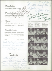 Page 9, 1954 Edition, St Catherines High School - Lance Yearbook (Racine, WI) online yearbook collection