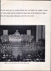Page 11, 1959 Edition, St Catherines High School - Lance Yearbook (Racine, WI) online yearbook collection