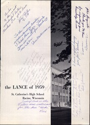 Page 5, 1959 Edition, St Catherines High School - Lance Yearbook (Racine, WI) online yearbook collection
