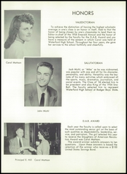 Page 11, 1954 Edition, Waterford High School - Emerald Yearbook (Waterford, WI) online yearbook collection