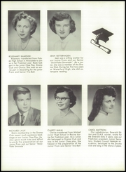 Page 16, 1954 Edition, Waterford High School - Emerald Yearbook (Waterford, WI) online yearbook collection