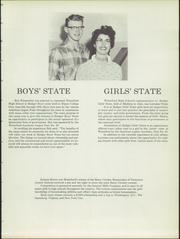 Page 13, 1957 Edition, Waterford High School - Emerald Yearbook (Waterford, WI) online yearbook collection