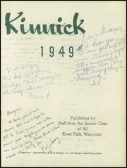 Page 9, 1949 Edition, River Falls High School - Kinnick Yearbook (River Falls, WI) online yearbook collection