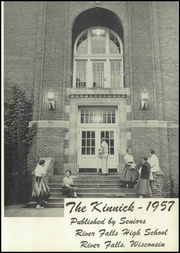 Page 7, 1957 Edition, River Falls High School - Kinnick Yearbook (River Falls, WI) online yearbook collection