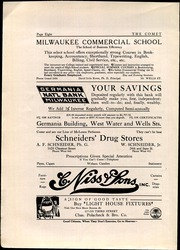 Page 10, 1914 Edition, West Division High School - Comet Yearbook (Milwaukee, WI) online yearbook collection
