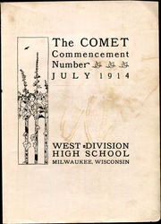 Page 3, 1914 Edition, West Division High School - Comet Yearbook (Milwaukee, WI) online yearbook collection