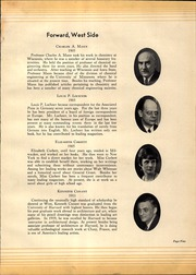 Page 11, 1931 Edition, West Division High School - Comet Yearbook (Milwaukee, WI) online yearbook collection