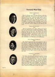Page 12, 1931 Edition, West Division High School - Comet Yearbook (Milwaukee, WI) online yearbook collection