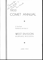 Page 7, 1933 Edition, West Division High School - Comet Yearbook (Milwaukee, WI) online yearbook collection