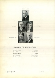 Page 12, 1937 Edition, Plymouth High School - Quit Qui Oc Yearbook (Plymouth, WI) online yearbook collection