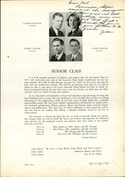 Page 17, 1937 Edition, Plymouth High School - Quit Qui Oc Yearbook (Plymouth, WI) online yearbook collection