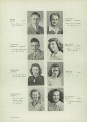 Page 16, 1945 Edition, Plymouth High School - Quit Qui Oc Yearbook (Plymouth, WI) online yearbook collection