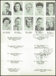 Page 12, 1952 Edition, Waupaca High School - Crystal Yearbook (Waupaca, WI) online yearbook collection
