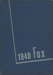 Page 1, 1940 Edition, De Pere High School - Fox Yearbook (De Pere, WI) online yearbook collection