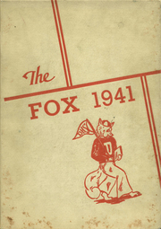 De Pere High School - Fox Yearbook (De Pere, WI) online yearbook collection, 1941 Edition, Page 1