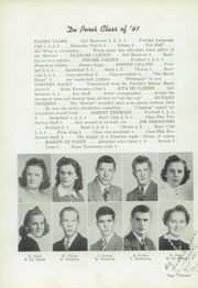 Page 17, 1941 Edition, De Pere High School - Fox Yearbook (De Pere, WI) online yearbook collection
