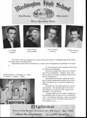 Page 13, 1956 Edition, New London High School - Classmate Yearbook (New London, WI) online yearbook collection