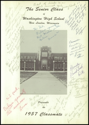 Page 5, 1957 Edition, New London High School - Classmate Yearbook (New London, WI) online yearbook collection