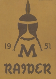 1951 Edition, Medford High School - Pow Wow Yearbook (Medford, WI)