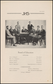 Page 9, 1925 Edition, Jefferson High School - Jeffersonian Yearbook (Jefferson, WI) online yearbook collection