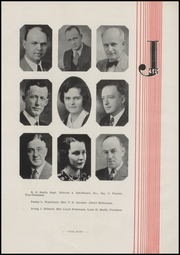 Page 12, 1936 Edition, Jefferson High School - Jeffersonian Yearbook (Jefferson, WI) online yearbook collection