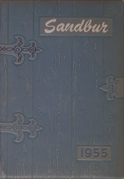 1955 Edition, Adams Friendship High School - Sandbur Yearbook (Adams, WI)