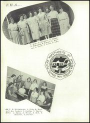 Adams Friendship High School - Sandbur Yearbook (Adams, WI) online yearbook collection, 1955 Edition, Page 40