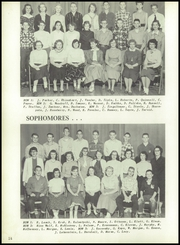 Adams Friendship High School - Sandbur Yearbook (Adams, WI) online yearbook collection, 1957 Edition, Page 18